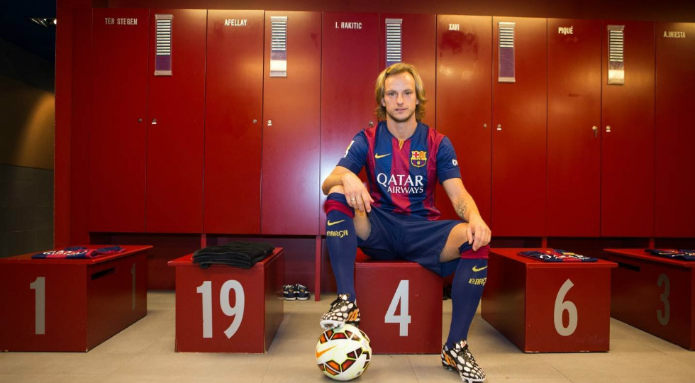 ivan rakitic pose