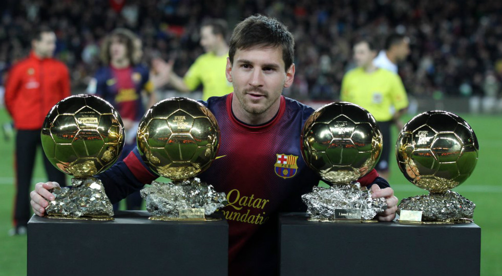 lionel messi barcelona ballon d'or